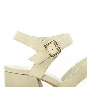 Wild Luxe Shoes - 🆕 Sage Banded Chunky Heel Sandals